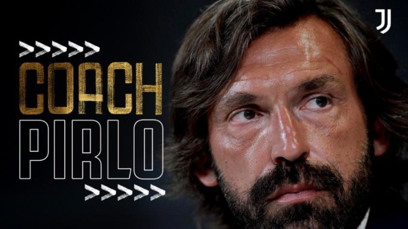 Un nuevo reto: Andrea Pirlo es el nuevo técnico de la Juventus