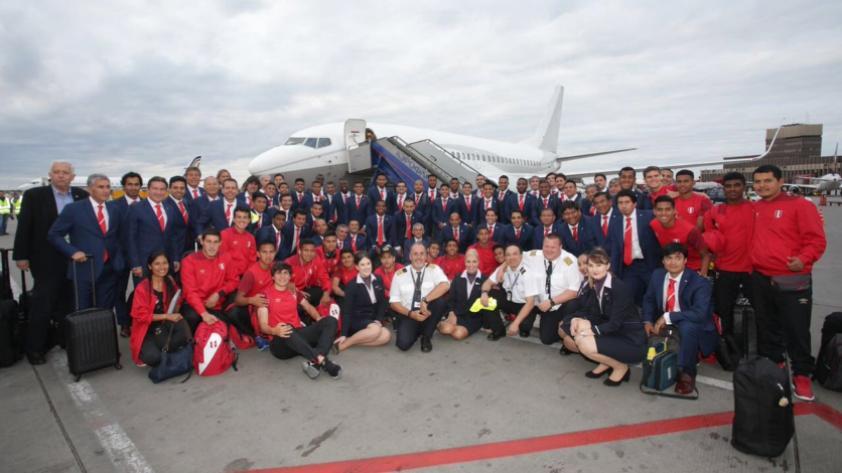 La Selección Peruana ya está en Rusia
