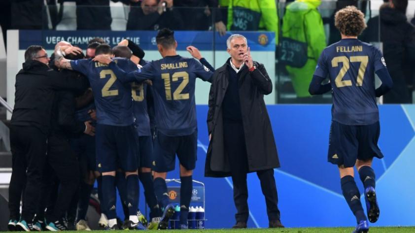 Manchester United logró un importante triunfo al vencer 2 - 1 a la Juventus en el último minuto