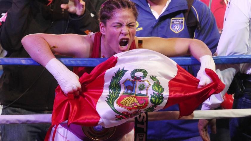 Linda Lecca lista para defender su título mundial ante mexicana Fernández