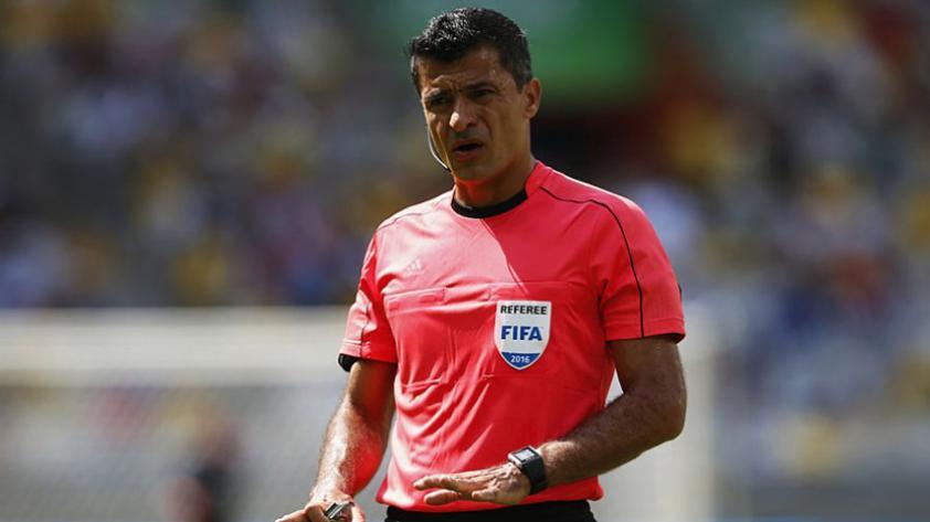 El árbitro brasileño Sandro Ricci dirigirá el Perú vs. Colombia de este martes
