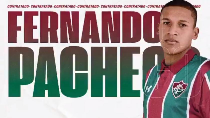 OFICIAL: Fluminense presentó a Fernando Pacheco como su nuevo refuerzo (VIDEO)