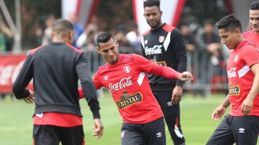 La Selección Peruana inició los entrenamientos con el plantel completo