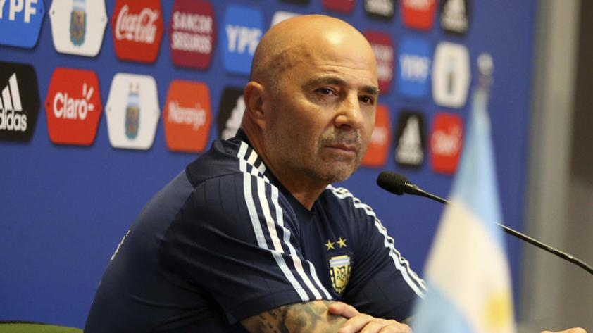"""Jorge Sampaoli: """"La ventaja que tiene Perú es el proceso"""""""