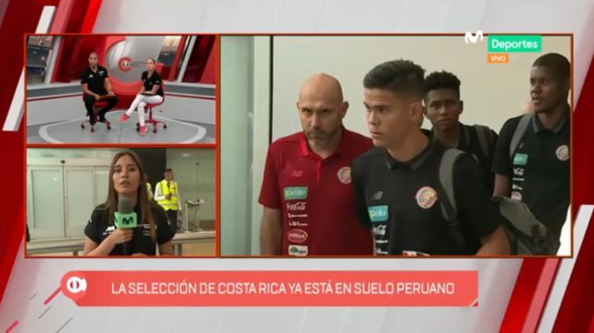 Perú vs Costa Rica: el cuadro 'Tico' ya arribó nuestra capital