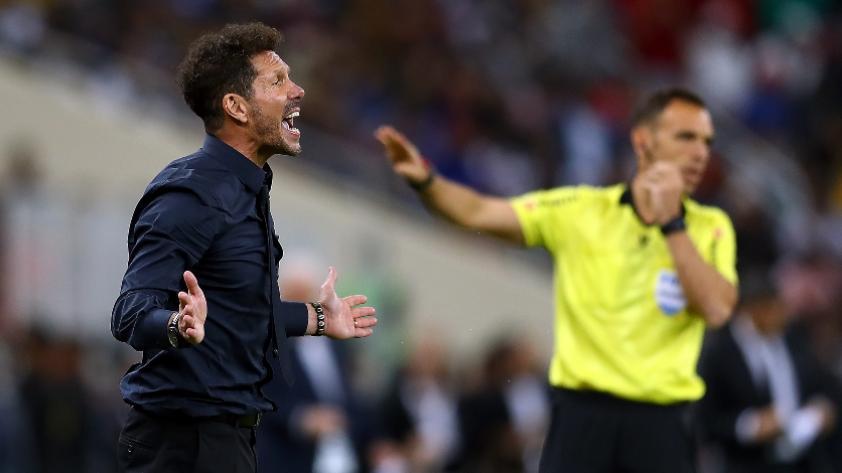 Diego Simeone tras la sanción a Fede Valverde: