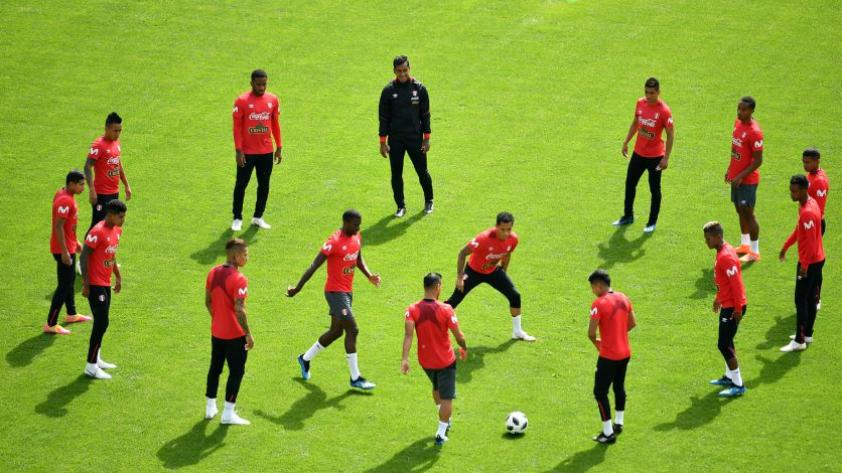 Selección Peruana: la bicolor realizó su segundo día de entrenamiento en Moscú