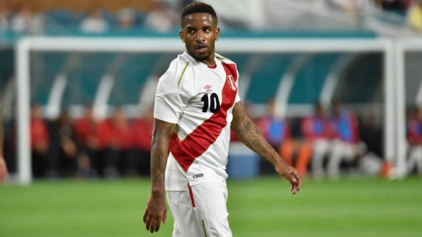 Jefferson Farfán es dado de alta y podría volver a Lima con la selección peruana
