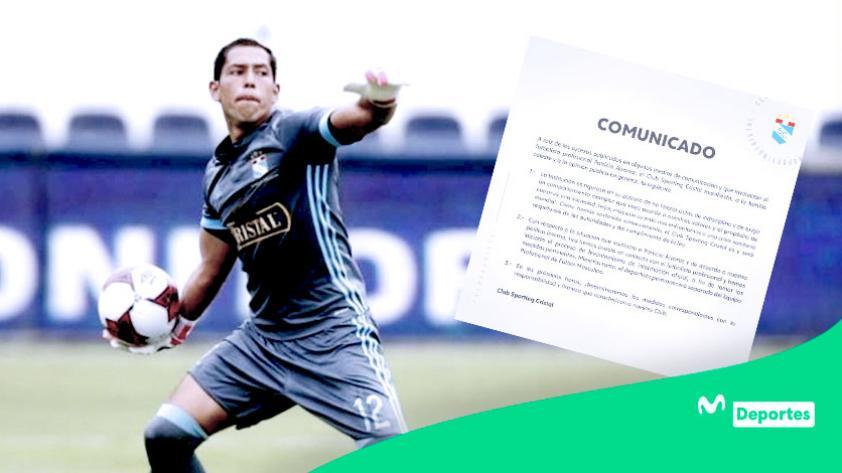 Sporting Cristal: Patricio Álvarez fue separado del primer equipo rimense