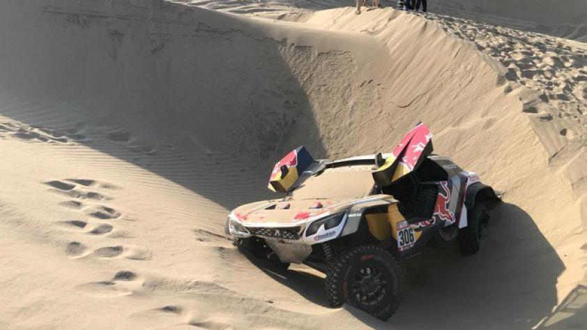 Dakar 2018: Sébastian Loeb abandona el Rally