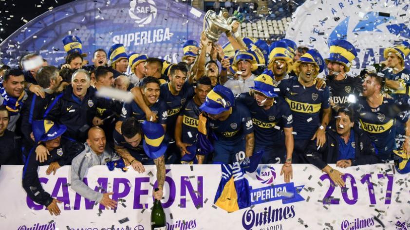 Boca Juniors sale campeón en la liga argentina