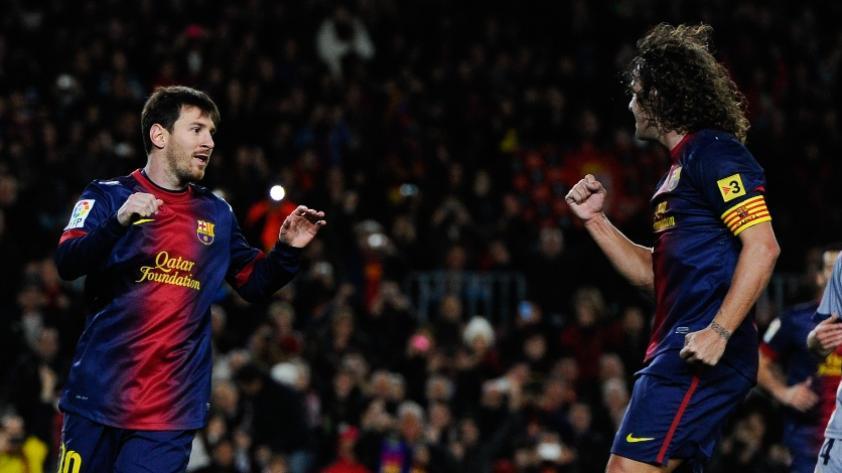 Carles Puyol sobre Lionel Messi: