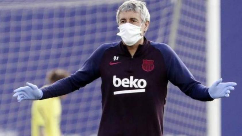 Setién sobre las declaraciones de Messi: ´´Los dos estamos convencidos que queremos ganar la Champions´´