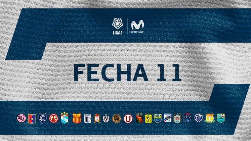 Liga 1 Movistar: PROGRAMACIÓN Y TABLA DE POSICIONES EN VIVO para la undécima jornada de la fase 1