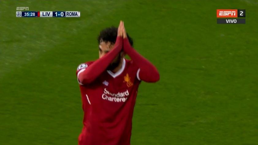 (VIDEO) La puso en el lugar imposible: Mohamed Salah y el golazo que anotó en el Liverpool vs. Roma