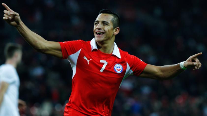 Alexis Sánchez, goleador histórico de Chile