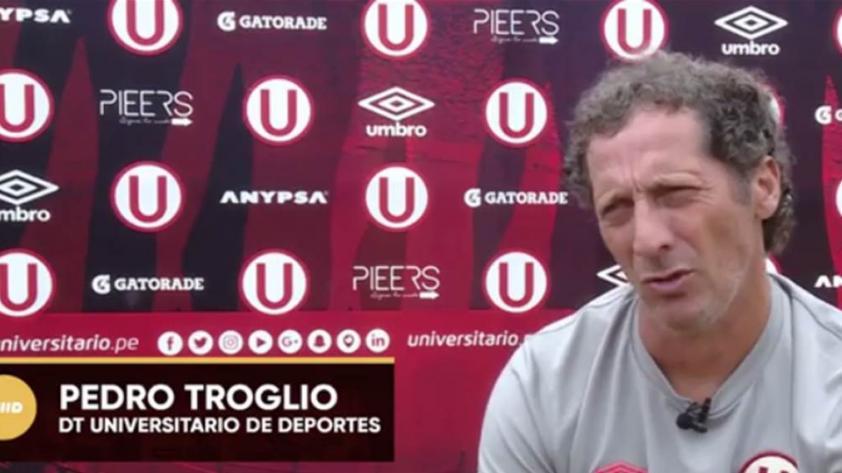 """Pedro Troglio: """"A mí me gustan los que trabajan, no los vagos"""""""