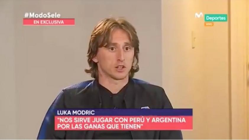 (VIDEO) Luka Modric en exclusiva: