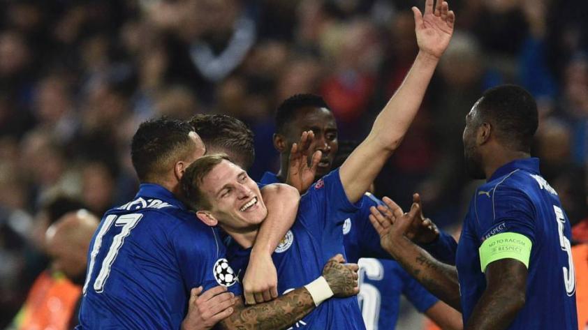 Leicester hace historia al eliminar al Sevilla