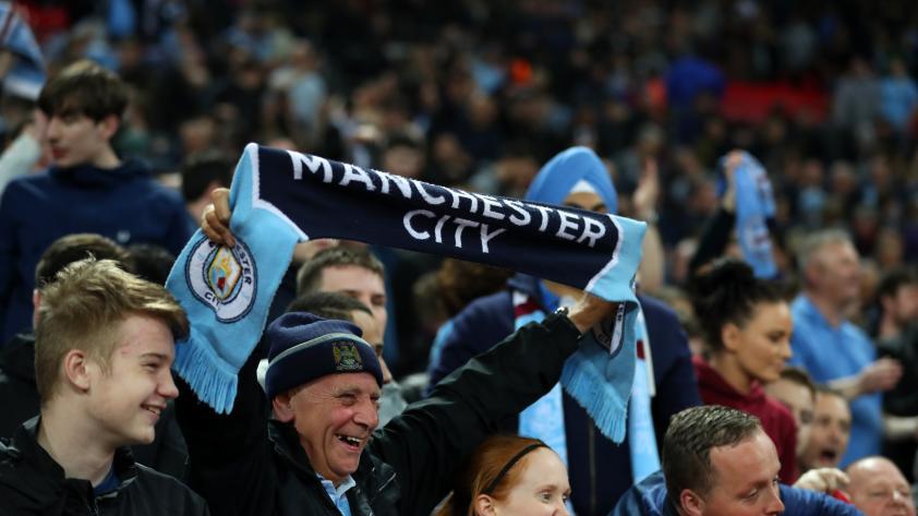 ¡Campeones! El Manchester City se coronó campeón de la Premier League inglesa 2017/2018