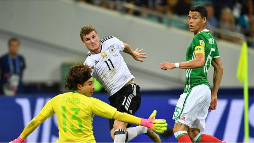Alemania venció 4-1 a México en la segunda semifinal de la Copa Confederaciones