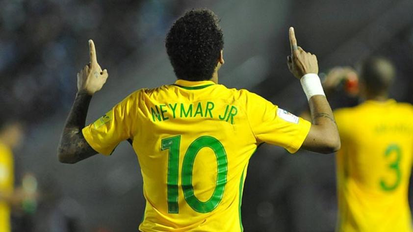 Brasil goleó a Uruguay de visita