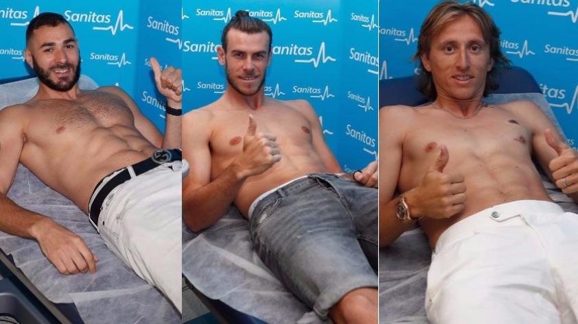 Real Madrid empieza la pretemporada con exámenes médicos, ¿estuvo James Rodríguez?