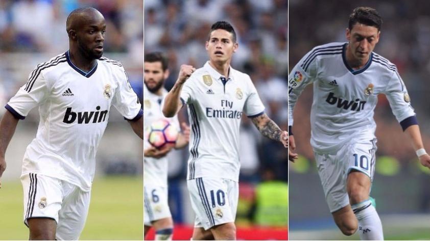 La 'maldición' de llevar la número '10' en Real Madrid