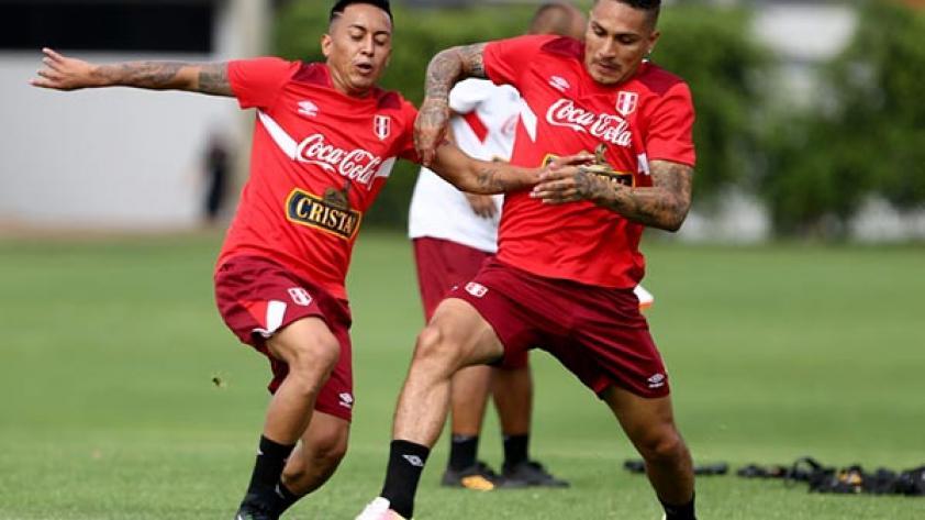Perú realizó su último entrenamiento previo a viajar a Venezuela