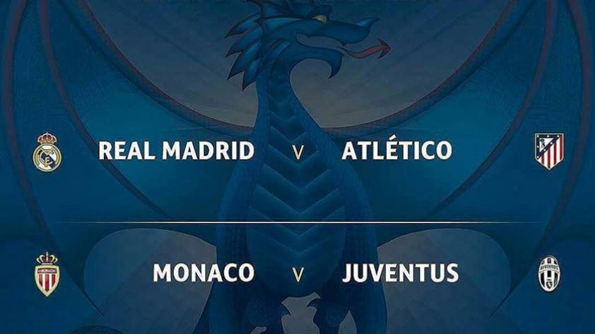 Champions League: Juventus vs Mónaco, Real Madrid vs Atlético de Madrid, las semifinales