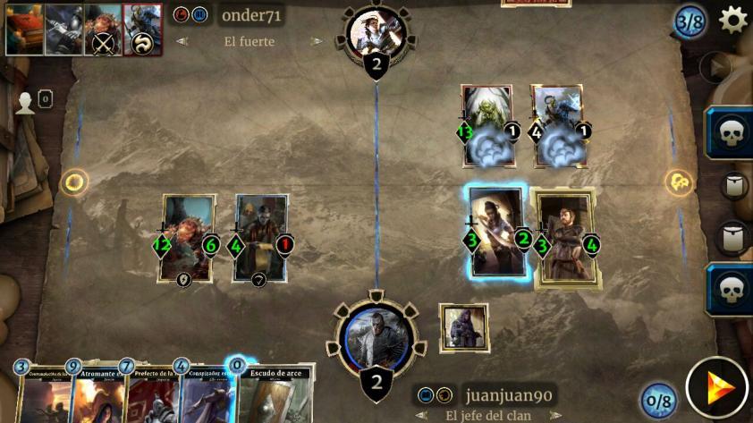 Jugamos The Elder Scrolls Legends - Legends of Skyrim en el celular