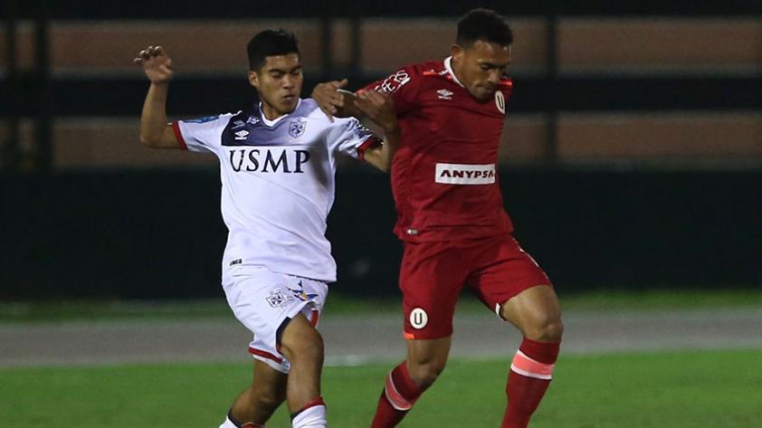 Universitario venció 2-4 a la San Martín en el Callao