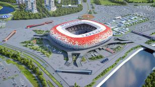 Este es el estadio donde Perú debutará en Rusia 2018