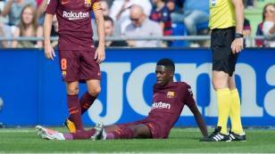 Barcelona: ¿Dembelé estaba lesionado antes de jugar? Este video probaría ello