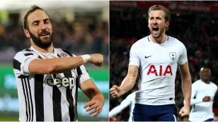 Champions League: Gonzalo Higuaín vs. Harry Kane, duelo de 'killers' este martes