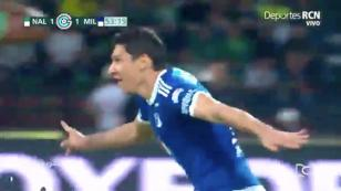 (VIDEO) Roberto Ovelar, ex Alianza Lima, le dio el título a Millonarios en Colombia con estos dos golazos