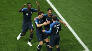 Francia vs. Croacia: todo lo que dejó los goles del primer tiempo (FOTOS)