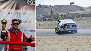 Marcelo Rodríguez arranca el Campeonato Nacional de Drifting 2017 subiendo al podio