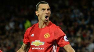Zlatan Ibrahimovic volvió al Manchester United