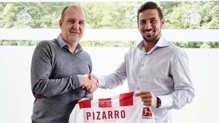 OFICIAL: Claudio Pizarro es nuevo jugador del Colonia