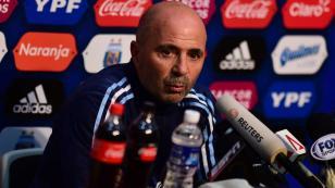 """Jorge Sampaoli: """"Argentina superó a Perú. Merecíamos otra cosa, pero hay que aceptarlo"""""""
