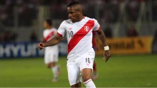 Jefferson Farfán y un 'guiño' a la Selección Peruana