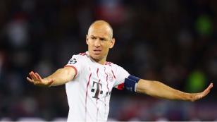 Arjen Robben dejó entrever problemas en el vestuario del Bayern Munich