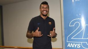 """Paulinho: """"Me voy a adaptar al estilo del Barcelona. No tengo problema"""""""
