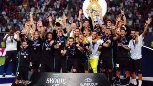 Real Madrid venció 2-1 a Manchester United y es campeón de la Supercopa de Europa