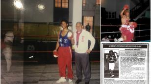 El día que Maicelo fue joven y quiso ser campeón del mundo