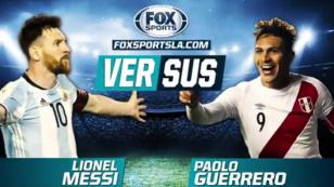(VIDEO) Fox Sports compara a Lionel Messi y Paolo Guerrero, ¿quién ganó?