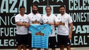 Sporting Cristal: Mario Salas presentado como nuevo técnico celeste