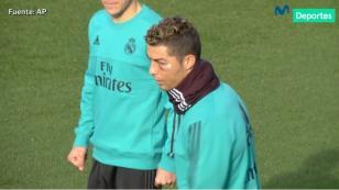 (VIDEO) Cristiano Ronaldo: así quedó tras el corte en su rostro