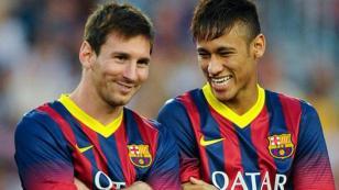 "Neymar a Messi: ""Te echaré de menos"""